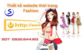 thiet ke website ban quan ao online tphcm