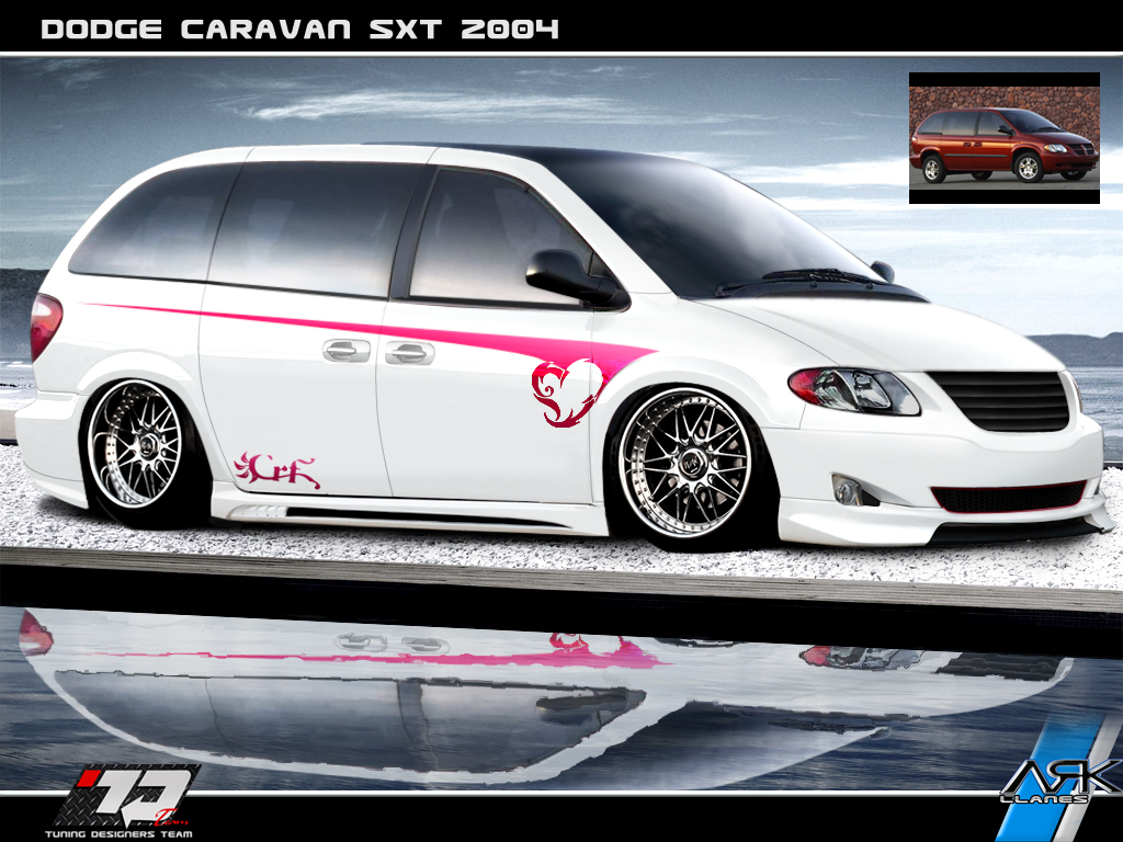 Virtual Tuning Design By Ark Llanes Dodge Caravan Sx7 2004