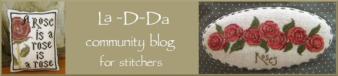 La D Da lovers and stitchers' blog