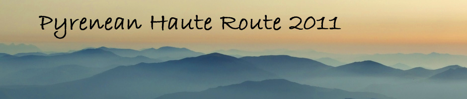 Pyrenean Haute Route 2011