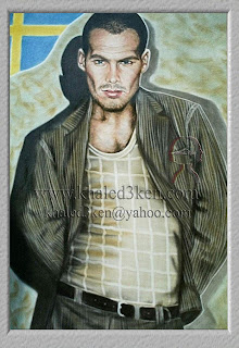 Frederik Lundberg Portrait Drawing Soccer Football Khaled3Ken Gallery