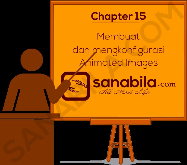 Cara Membuat dan mengkonfigurasi Gambar Animasi Pada HTML