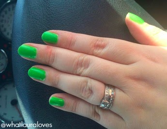 Models Own Green Fields Nail Polish Swatch
