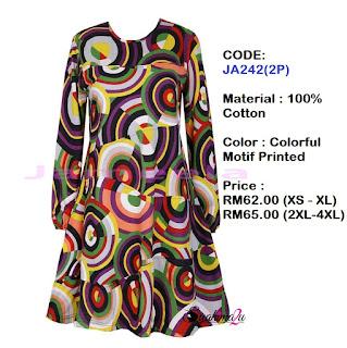 T-shirt-Muslimah-Jameela-JA242(2P)