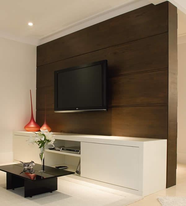 Painel De Parede Para Televisaoem Madeira Home Interior Design