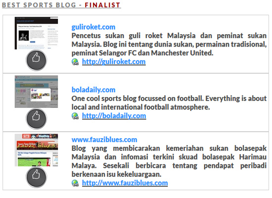 Top 3 best blog MSMW 2014