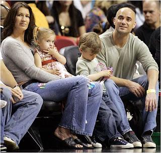 Steffi Graf Family