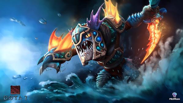 slark the nightcrawler the ocean conqueror set dota 2