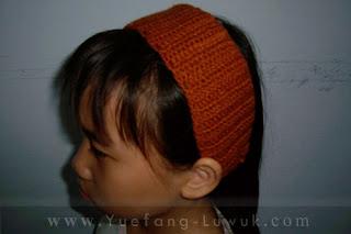 wearing_new_stretchy_crochet_headband