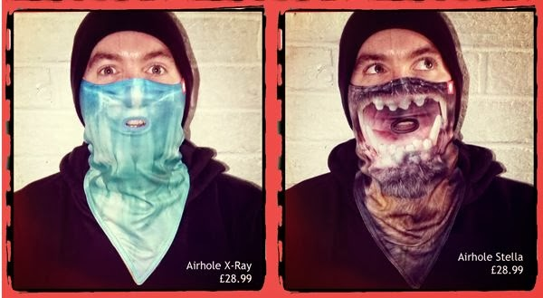 Airhole X Ray & Airhole Stella face masks