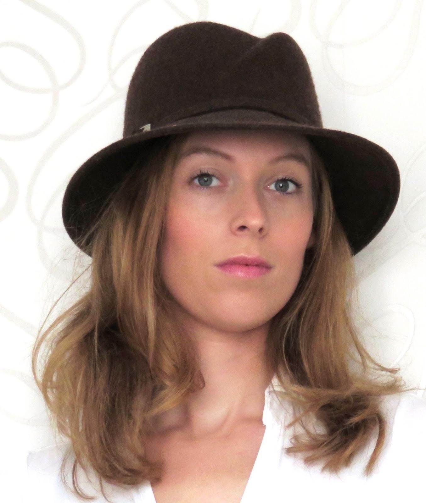 men's hat brown mannenhoed bruin