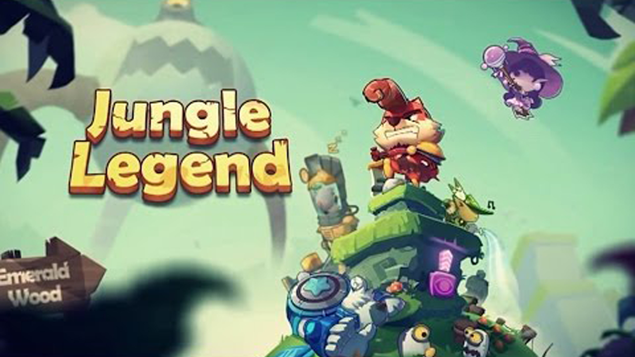 Jungle Legend Gameplay IOS / Android