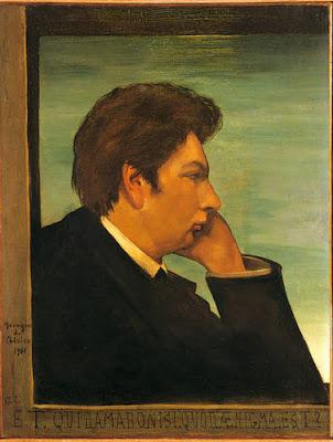Giorgio de Chirico - Self-Portrait 1911