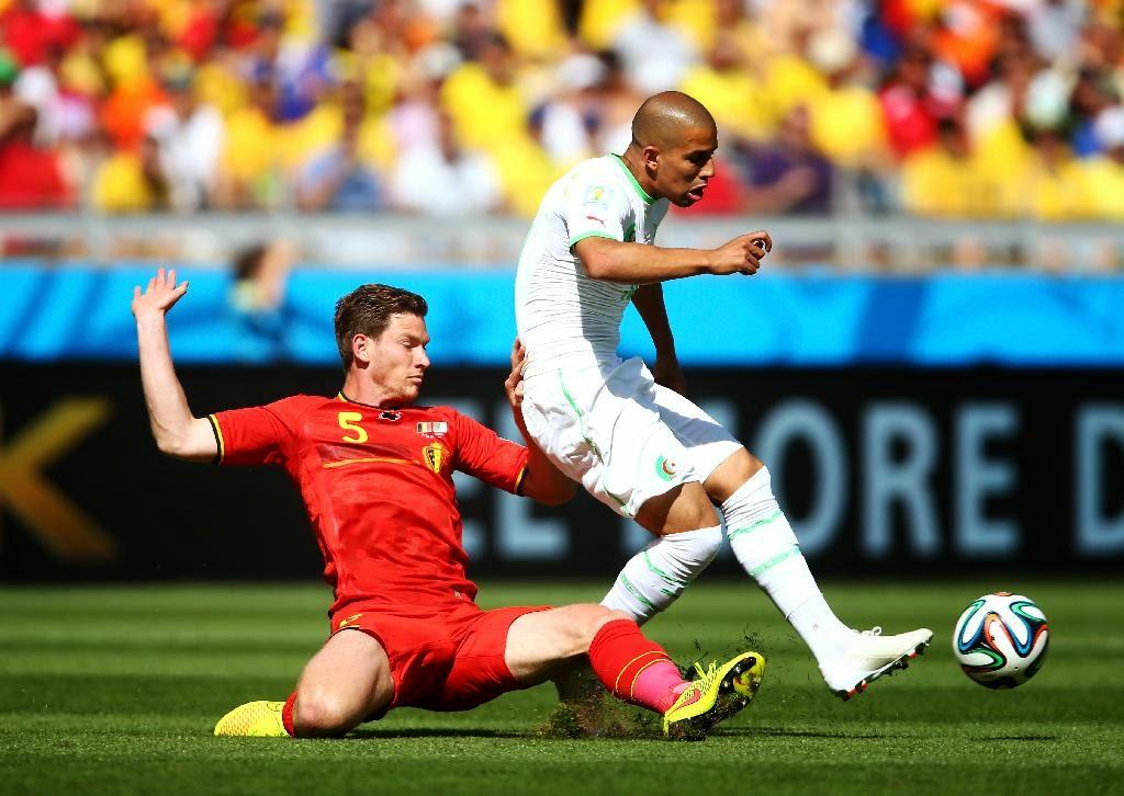 Algeria vs Belgium - 2014 World Cup