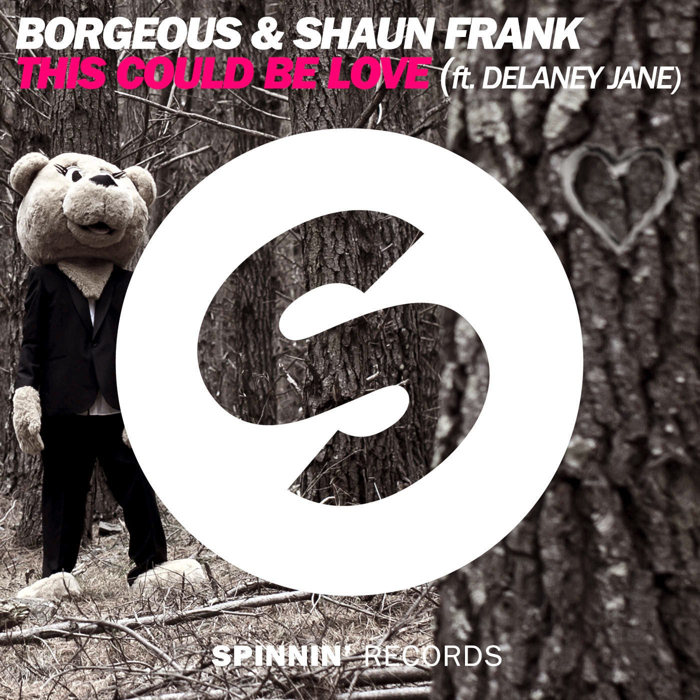 Borgeous & Shaun Frank - This Could Be Love feat. Delaney Jane - Single  Cover
