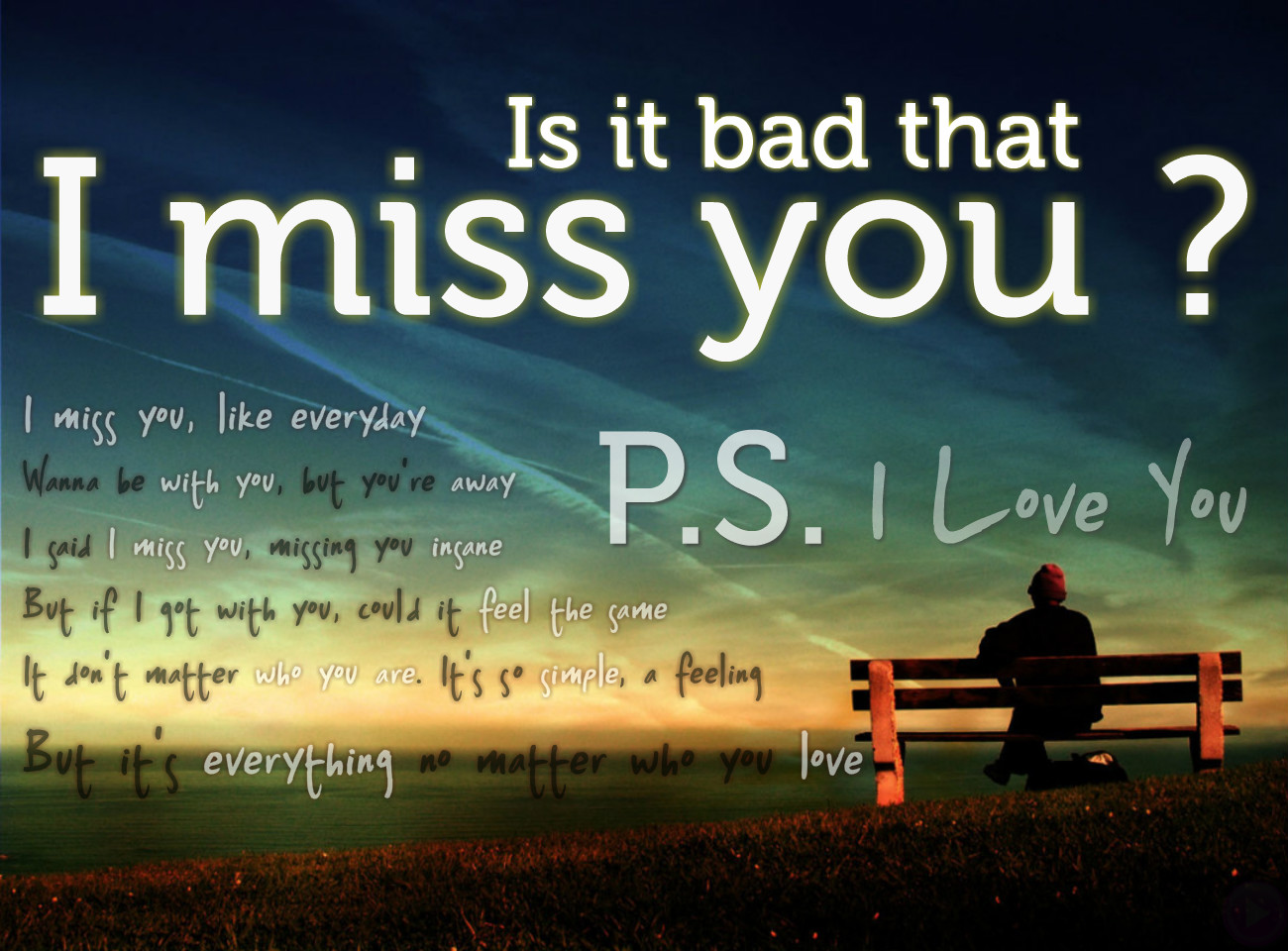Miss You Love Quotes For Him I miss you text messages
