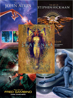 Titan art books