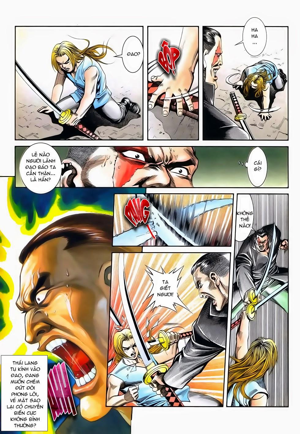 Long Hổ Phong Bạo chap 3 - Trang 9