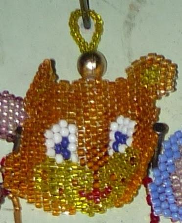 Сувениры из бисера на новый год схемы