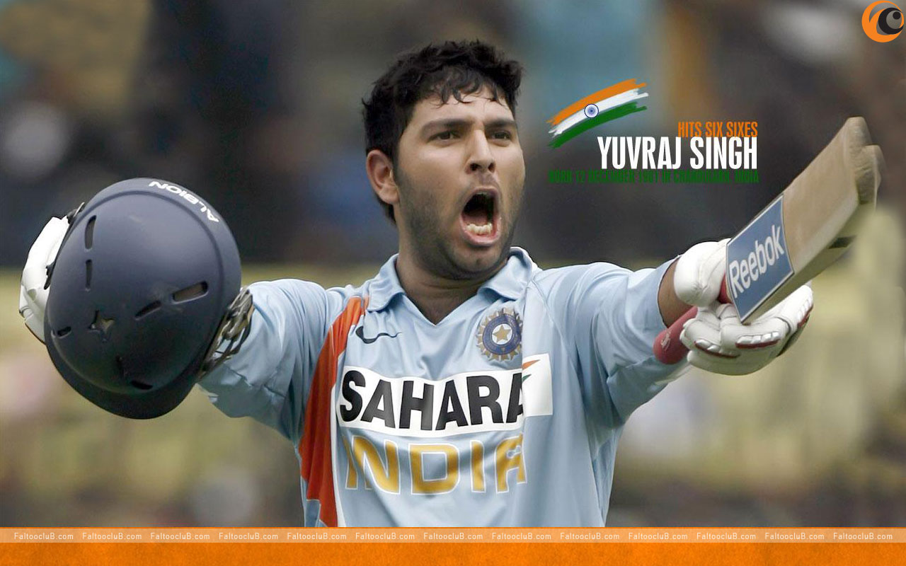 Biography Of Yuvraj Singh Cricketer Sport Stars Of World: ...