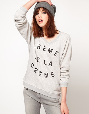 Zoe Karssen Creme Dela Creme Sweater Ebay 5