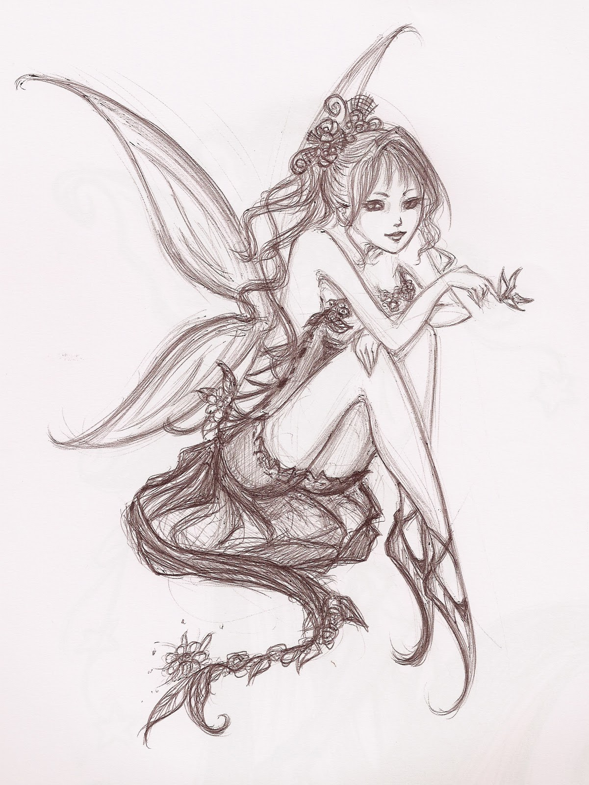 Flower Fairy Art 02091...