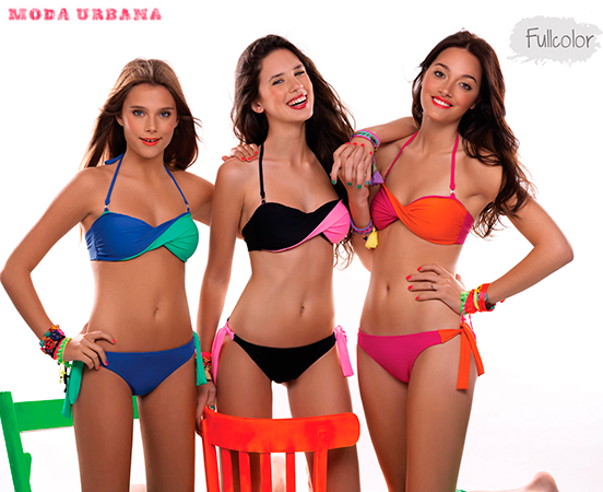 Sweet Victorian 2013 bikinis colores fluo