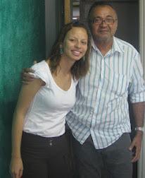 EDUARDO VASCONCELOS E MANUELA BRAGA, PRESIDENTE DA UBES