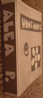 cara bikin tulisan unik di binder dengan isolasi