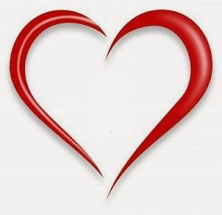 Draw heart shape on Google_FunWidTricks.Com