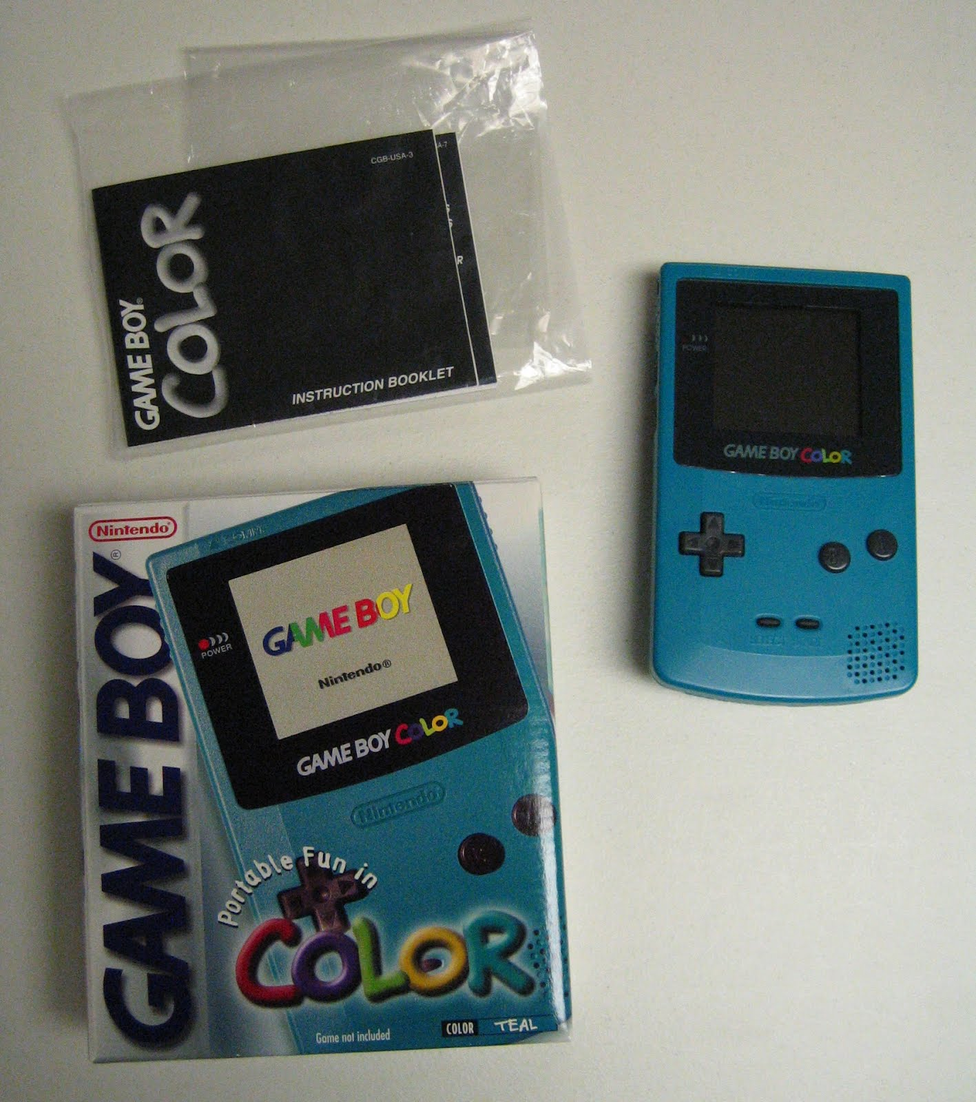 Gameboy Color Teal