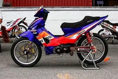 modif honda revo 100cc 2008