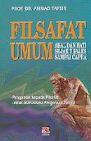 toko buku rahma: buku FAILSAFAT UMUM, pengarang ahmad tafsir, penerbit rosda