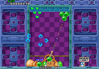 Puzzle Bobble Gameplay