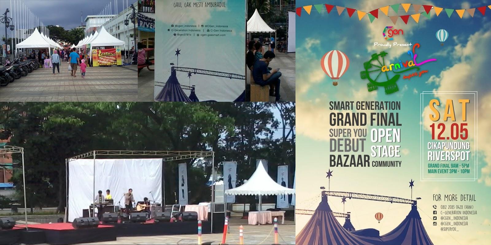 event Super You Carnival Cikapundung
