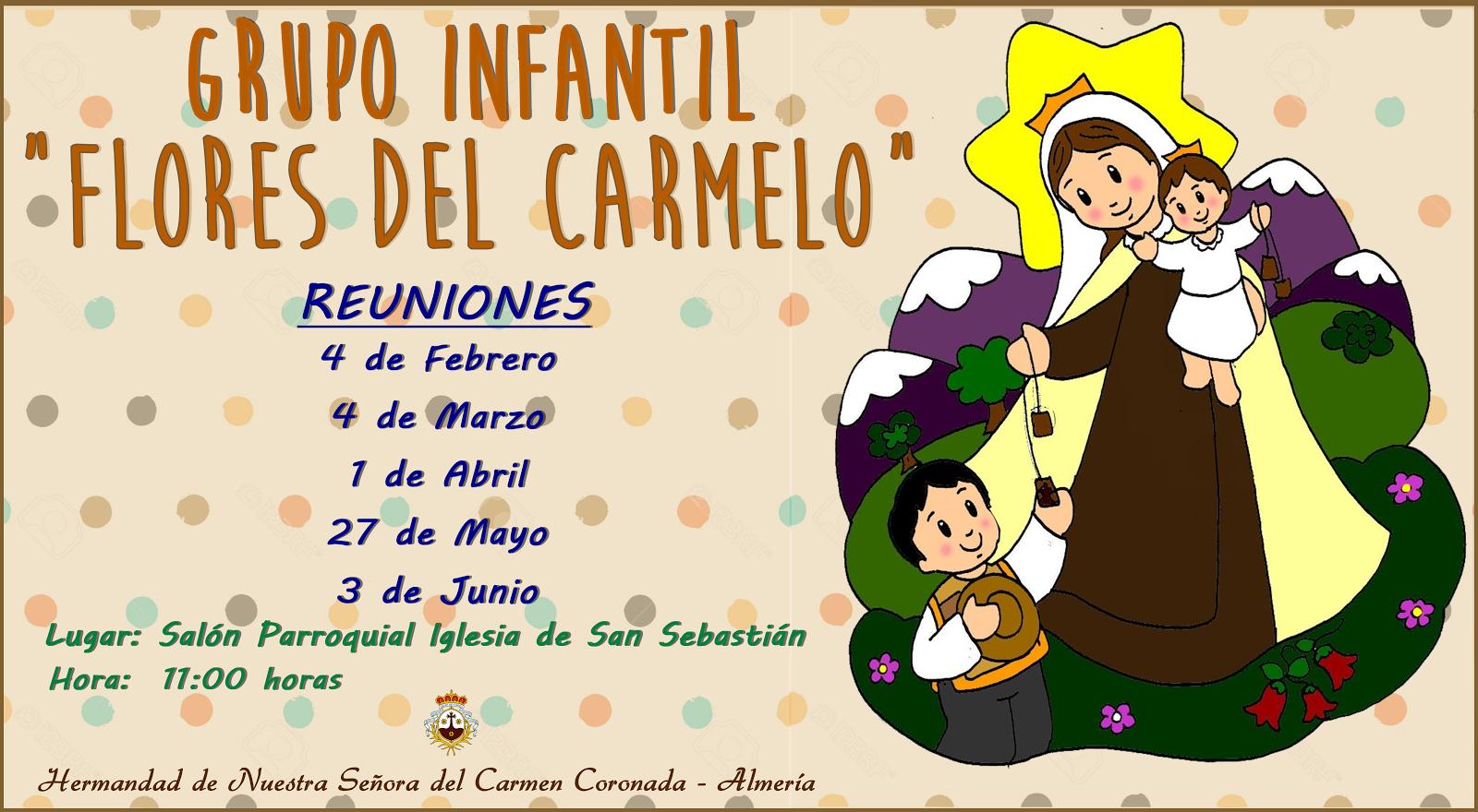 """REUNIONES """"FLORES DEL CARMELO"""""""