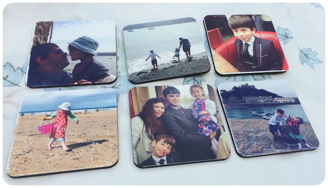photo coasters from truprint