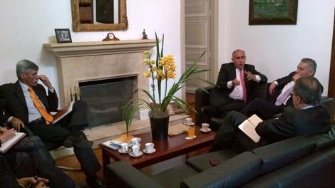 Congresistas liberales del cauca gestionan intereses de la for Agenda ministro interior