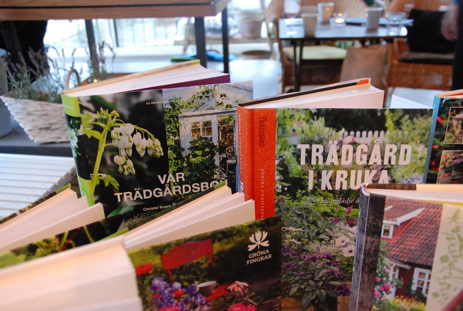 Den passionerade trädgårdsturisten: trädgårdsböcker 2014