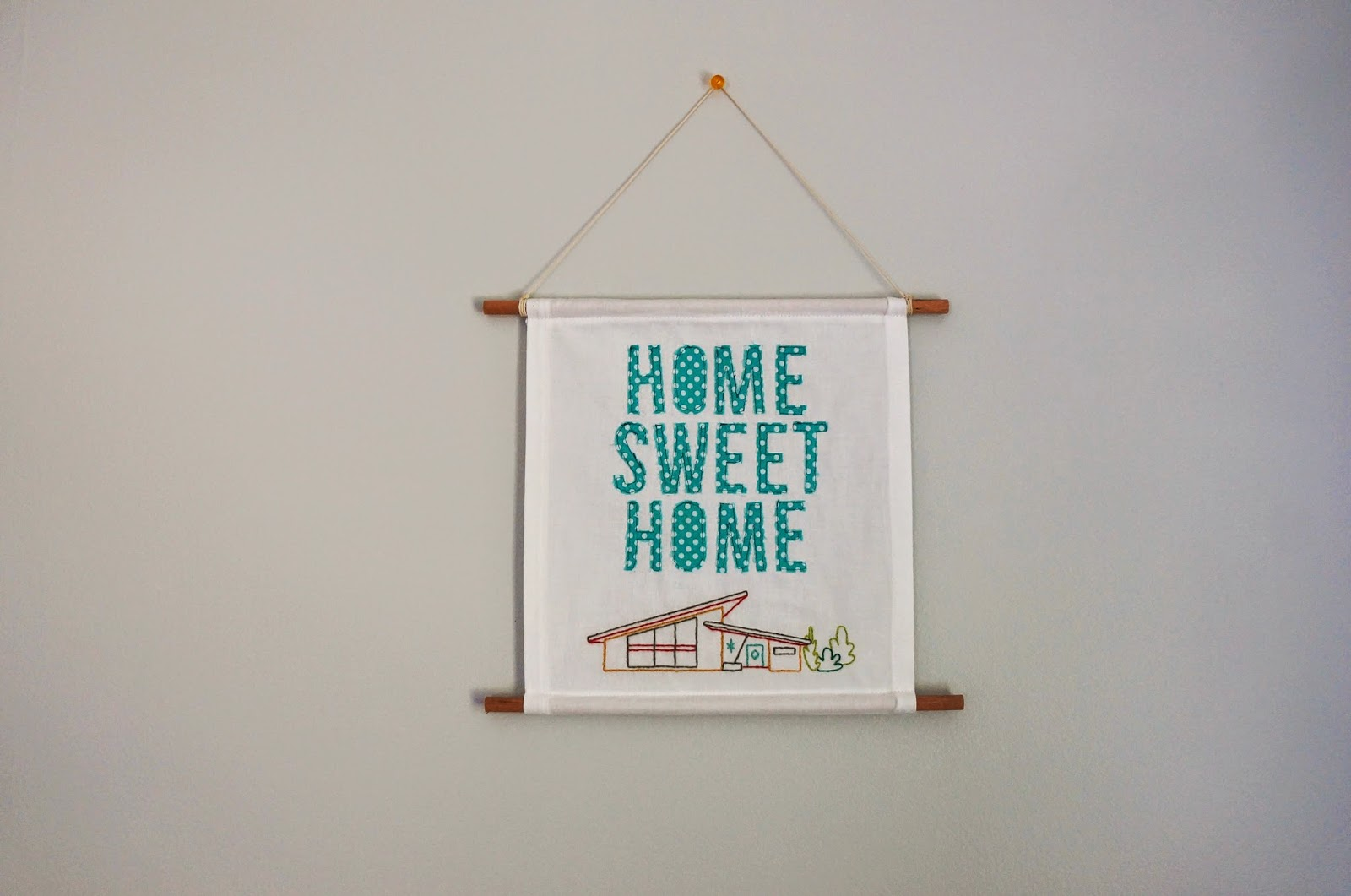 home sweet home banner foxglo.etsy.com