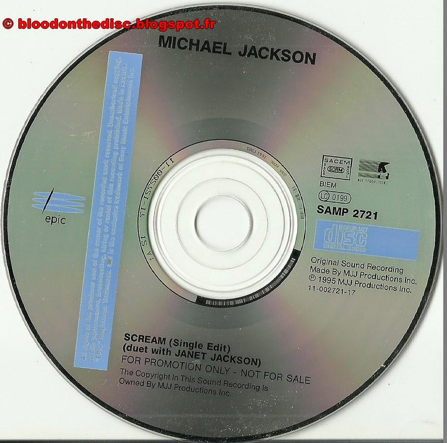 CD Promo français Scream
