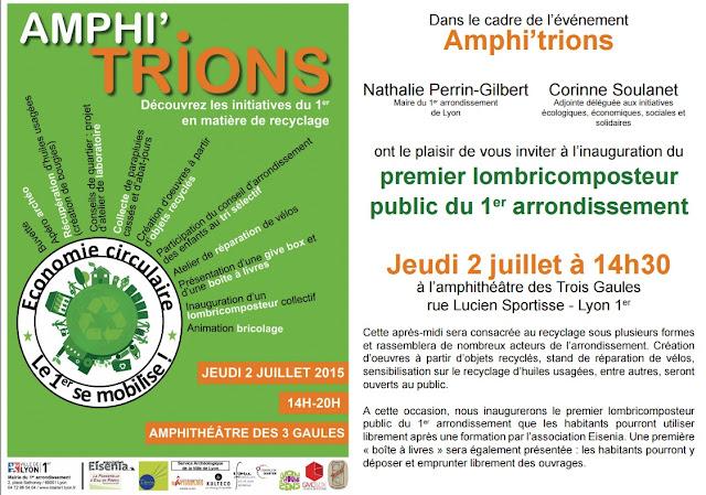 Association eisenia jeudi 2 juillet amphi trions lyon 1 for 9 rue du jardin des plantes 69001 lyon