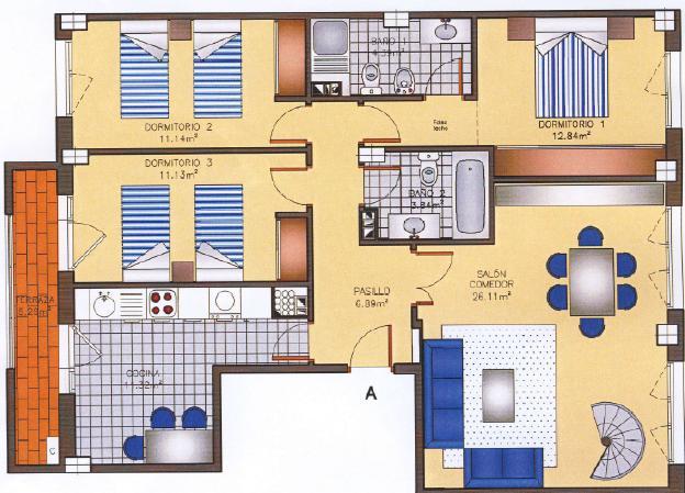 El rinc n de la tecnolog a dibujo del plano de una vivienda for Programa para planos de viviendas
