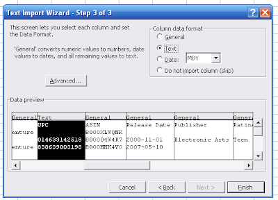 Excel Text Import Wizard3