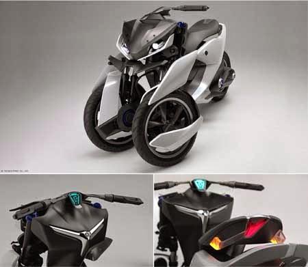 gambar motor Yamaha Futuristik