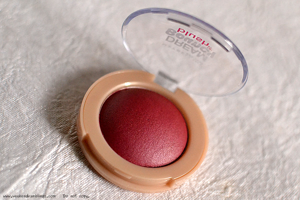 maybelline dream bouncy blush makeup cheeks plum wine reviews fotd looks beauty blog 50