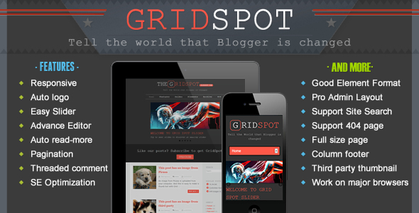Free Template Blog Premium