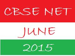 image : CBSE UGC NET JUNE 2015 @ www.cbse-net.in