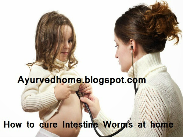 why intestine worms in children and home remedies