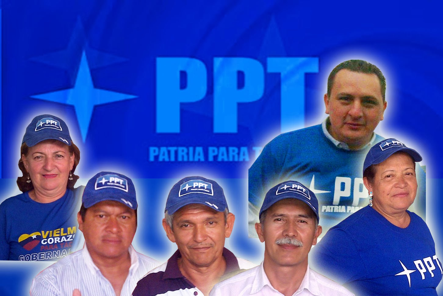 CANDIDATOS DE LA PATRIA